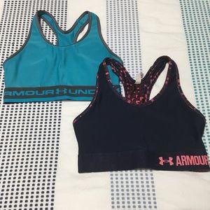 under armour sports bras